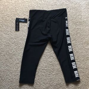 BEBE Sport Athletic Capris